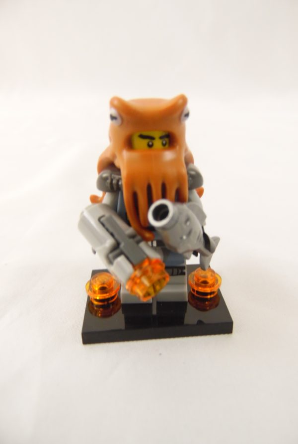 Mini figurine Lego N° 71019 - Ninjago Movie série 1 - N°12 Bandit pieuvre