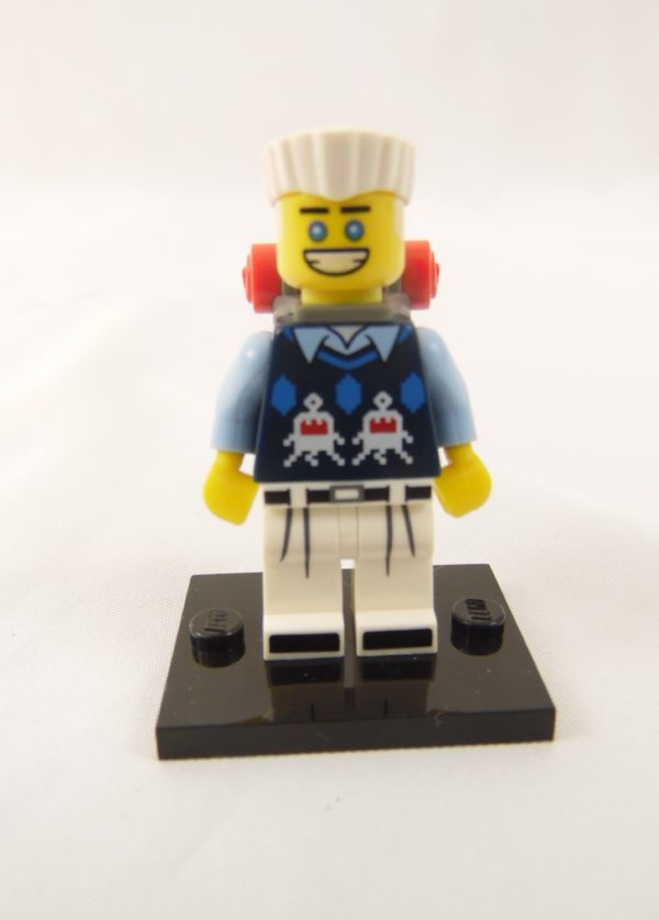 Mini figurine Lego N° 71019 - Ninjago Movie série 1 - N°10 Zane