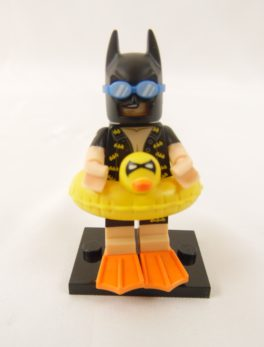Mini figurine Lego N° 71 017 - Batman Série 1 - N°5 Batman en vacances