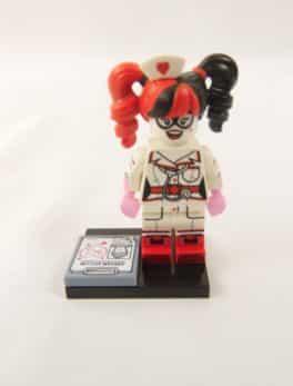 Mini figurine Lego N° 71 017 - Batman Série 1 - N°13 Harley Quinn infirmière