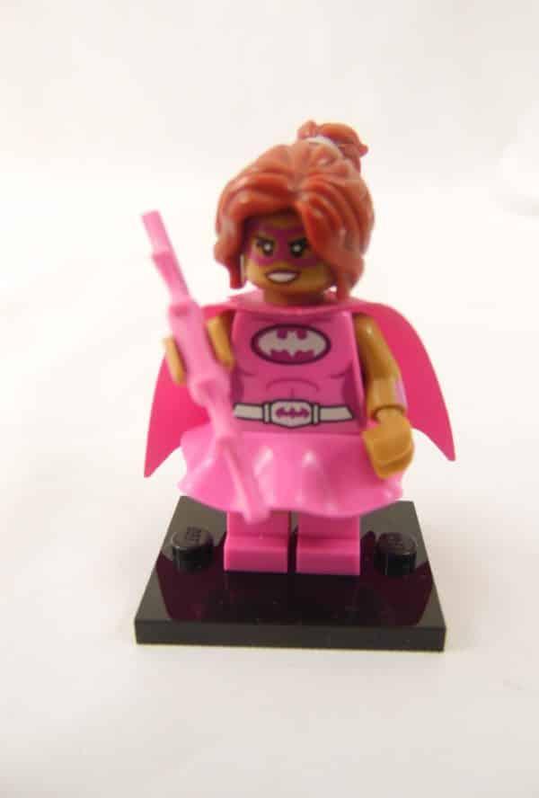 Mini figurine Lego N° 71 017 - Batman Série 1 - N°10 Pink Power Batgirl