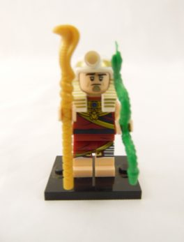 Mini figurine Lego N° 71 017 - Batman Série 1 - N°19 Le Roi Tut