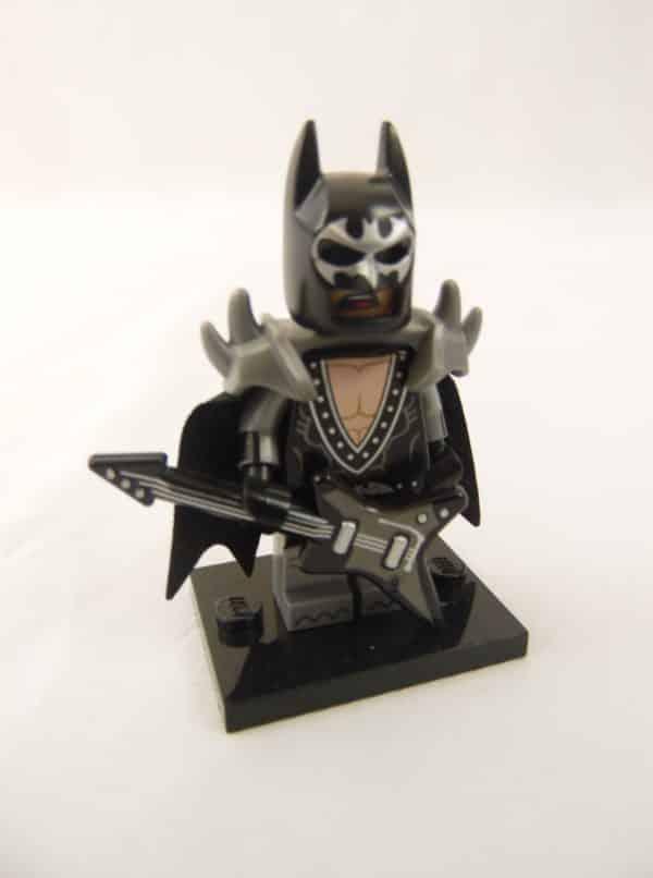 Mini figurine Lego N° 71 017 - Batman Série 1 - N°2 Batman glam métal