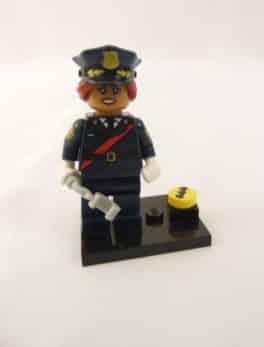 Mini figurine Lego N° 71 017 - Batman Série 1 - N°6 Barbara Gordon