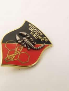 Insigne Militaire Français - Groupe de défense N.B.C.