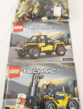 LEGO TECHNIC - 42079 - Le chariot élévateur
