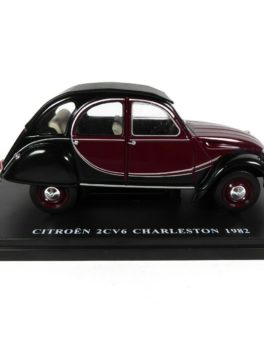 Voiture miniature 1/24 - La Citroën 2Cv Charleston