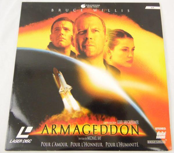 Laser disc - Armageddon - Bruce Willis