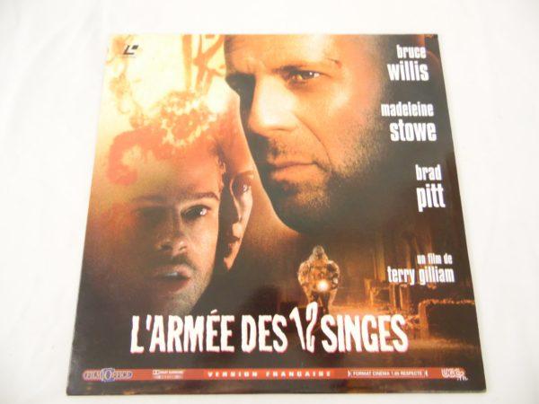 Laser disc - L'armée des 12 singes - Bruce Willis