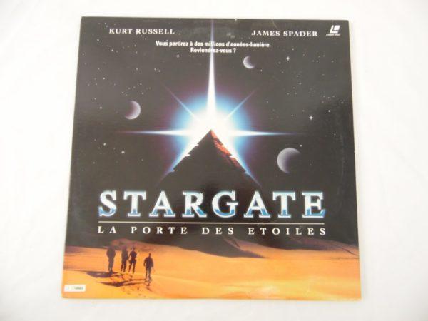 Laser disc - Stargate - Kurt Russell