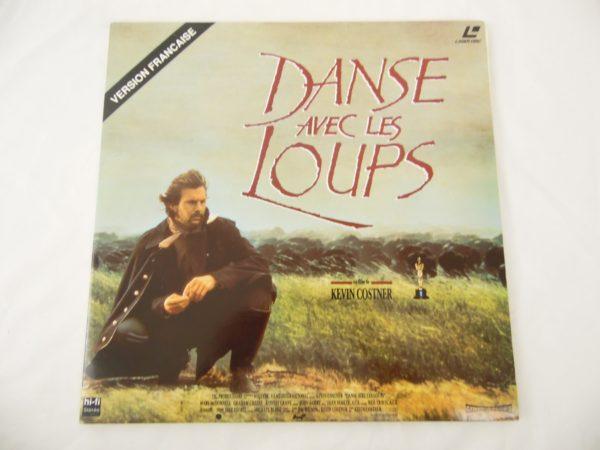 Laser disc - Danse avec les loups - Kevin Costner