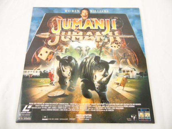 Laser disc - Jumanji - Robin Williams