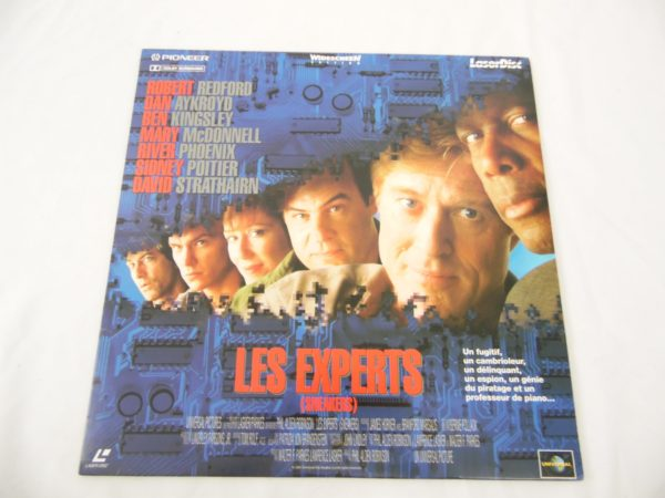 Laser disc - Les experts - Robert Redford