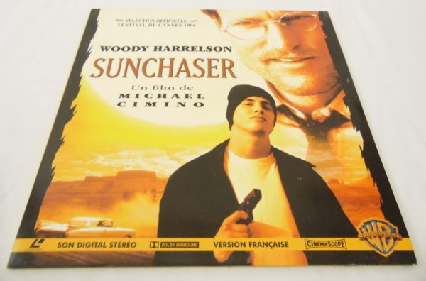 Laser disc - Sunchaser - Woody harrelson
