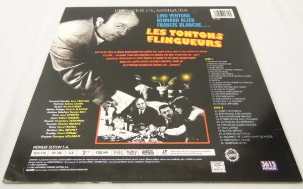 Laser disc - Les tontons flingueurs - Lino Ventura