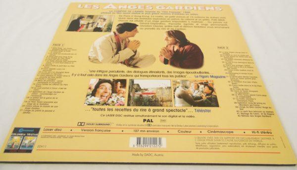 Laser disc - Les anges gardiens - Gérard Depardieu et Christian Clavier
