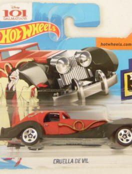 Voiture Hot Wheels - 101 Dalmatiens - Cruella de Vil - HW SCREEN TIME 9/10