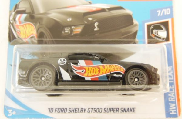 Voiture Hot Wheels - 10 FORD SHELBY GT 500 SUPER SNAKE