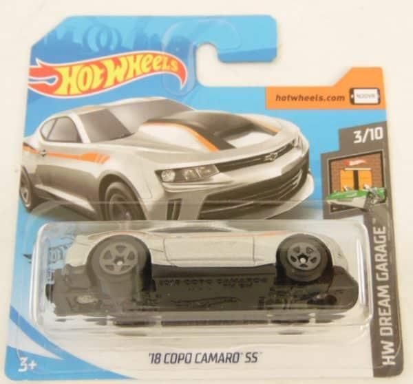Voiture Hot Wheels - 18 copo Camaro SS - HW DREAM GARAGE 3/10