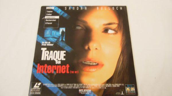 Laser disc - Traque sur Internet - Sandra Bullock
