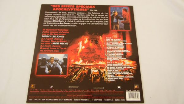 Laser disc - Volcano - Tommy Lee Jones