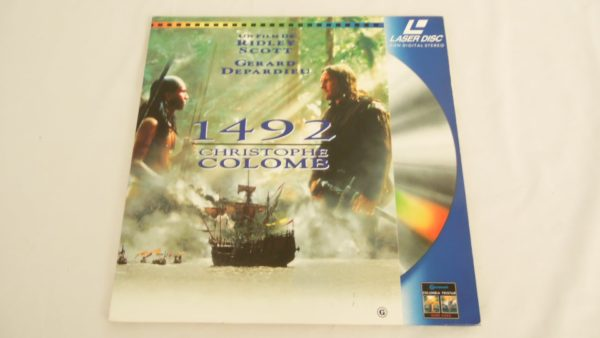 Laser disc - 1492 - Christophe Colomb