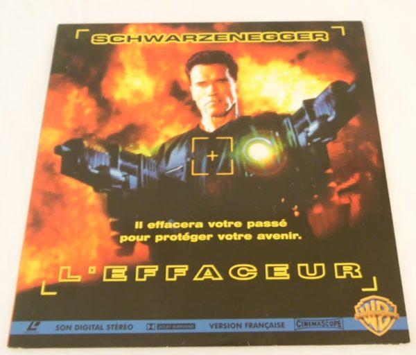 Laser disc - L'effaceur - Arnold Schwarzenegger