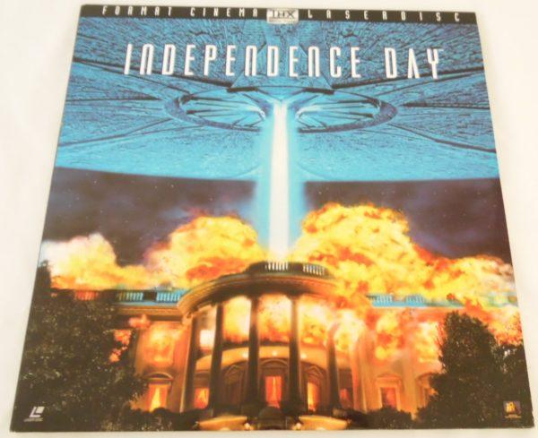 Laser disc - Indépendance Day