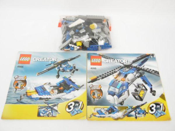 LEGO créator - 4995 - L'hélicoptère cargo