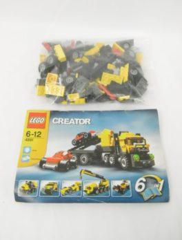 LEGO CREATOR - 4891 - Le camion de transport