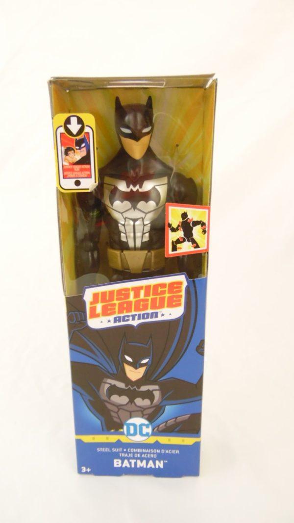 Figurine Batman - 30 cm - Justice League Action - Combinaison d'acier