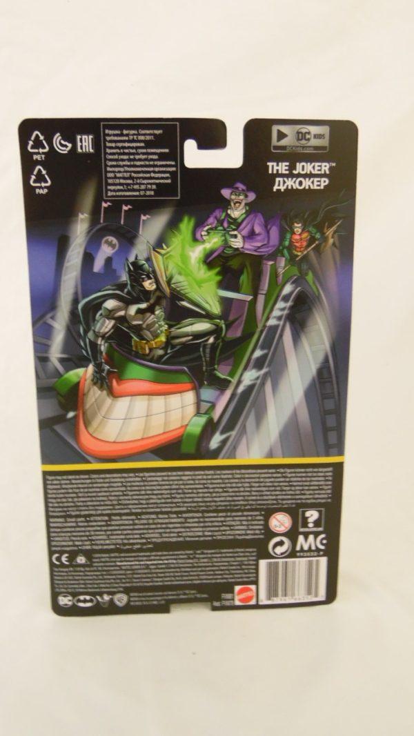 Figurine le Joker - 15 cm - Batman missions DC - Mattel
