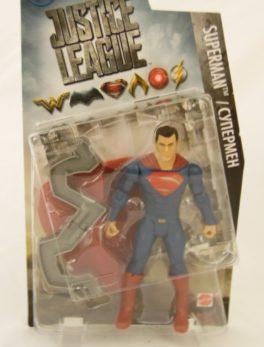 Figurine Superman - 15 cm - Justice League - Mattel
