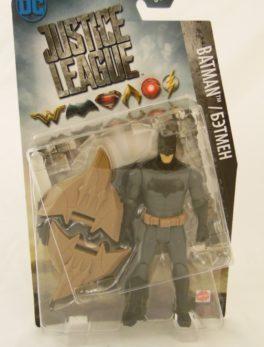 Figurine Batman - 15 cm - Justice League - Mattel