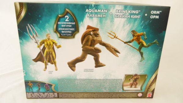 Coffret Aquaman - 3 figurines - Aquaman / Brine King / Orm