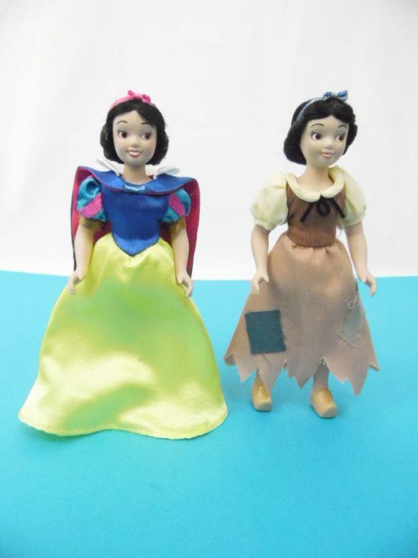 Figurine Disney - Porcelaine - Blanche neige et les 7 nains