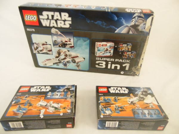 LEGO Star Wars - N° 66378 - super pack 3 en 1