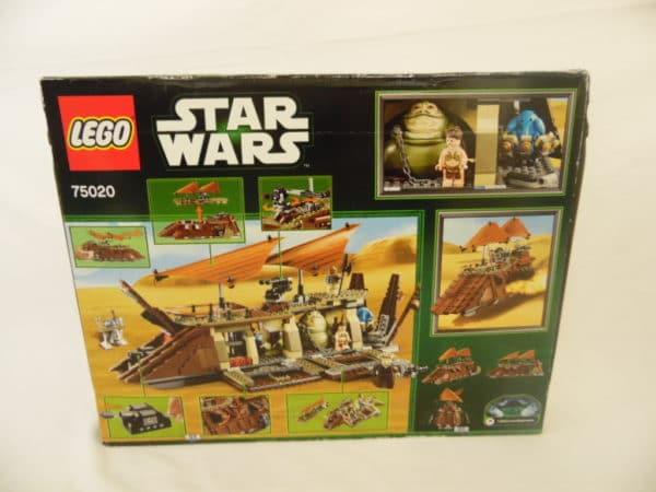 LEGO N° 75020 - Star wars - Barge de Jabba
