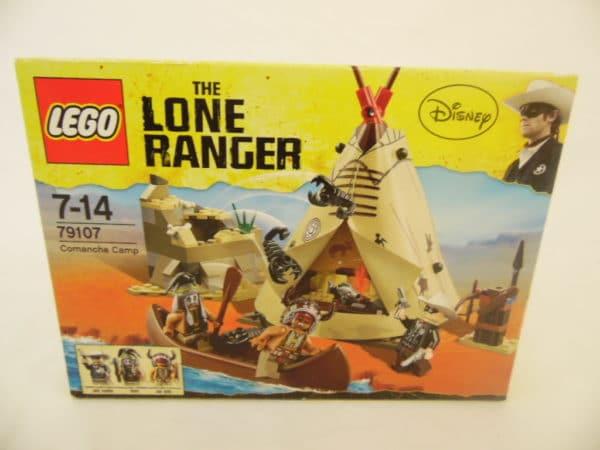LEGO N° 79107 - The Lone Ranger - Le camp de Comanche