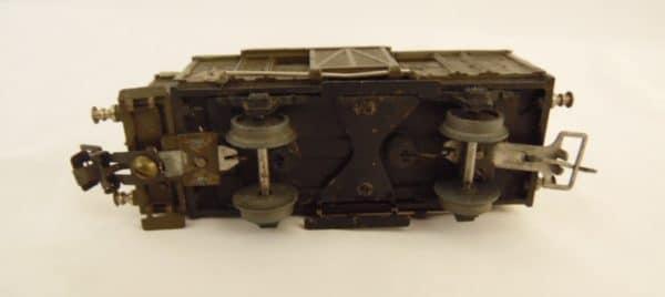 Wagon couvert à essieux - JEP - 11 cm - Fabriqué entre 1948 à 1964