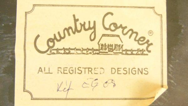 Tableau relief en bois - Country Corner - Academy Carter Bridge