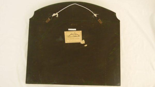 Tableau relief en bois - Country Corner - Capt G.Hilton