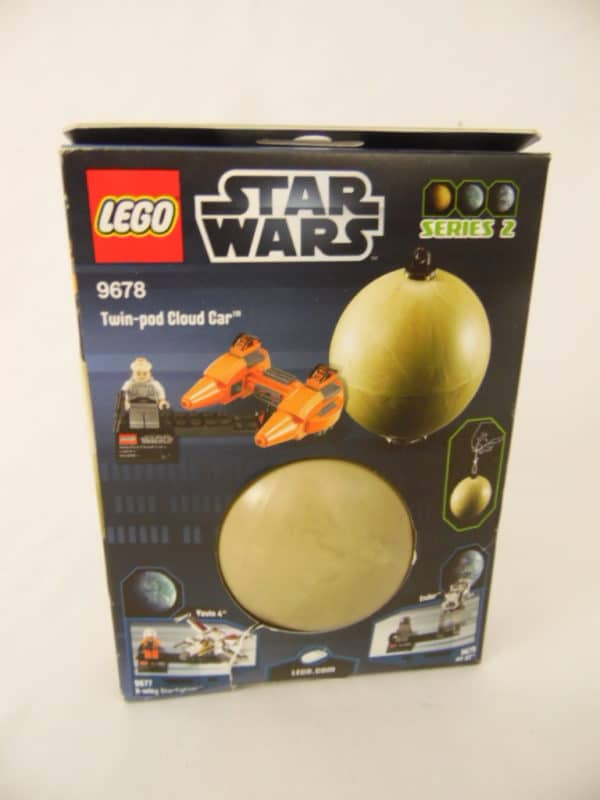 LEGO Star Wars - N° 9678 - Série 2 - Voiture Cloud et Bespin Twin-Pod