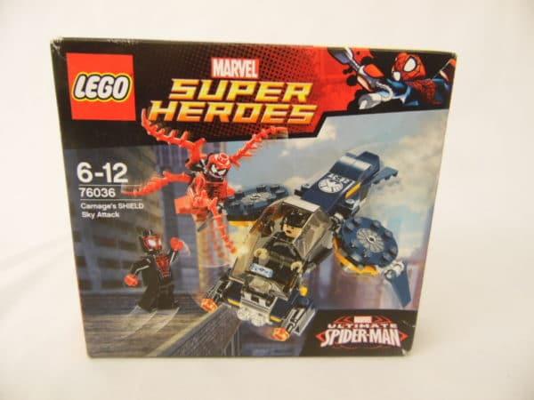 LEGO Super Heroes - N° 76036 - L'attaque céleste du SHIELD de Carnage