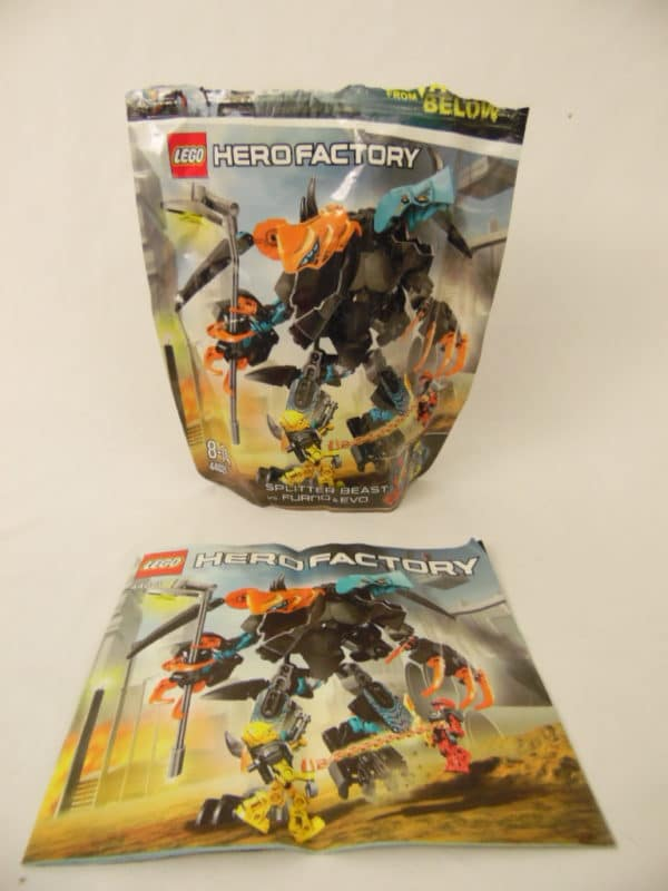 LEGO Hero Factory - N°44021 - SPLITTER Beast contre FURNO & EVO