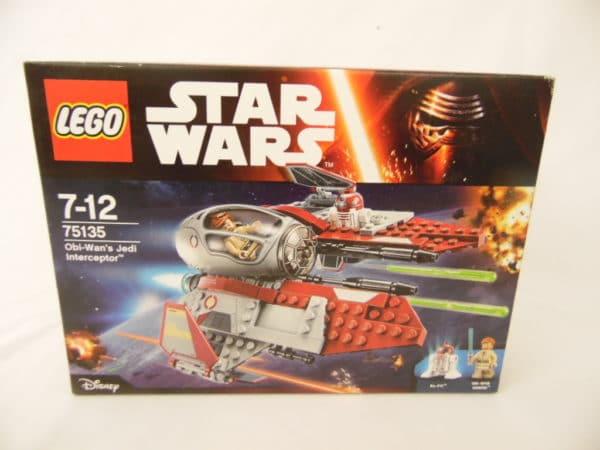 LEGO Star Wars - N° 75135 - Intercepteur Jedi d'Obi-Wan