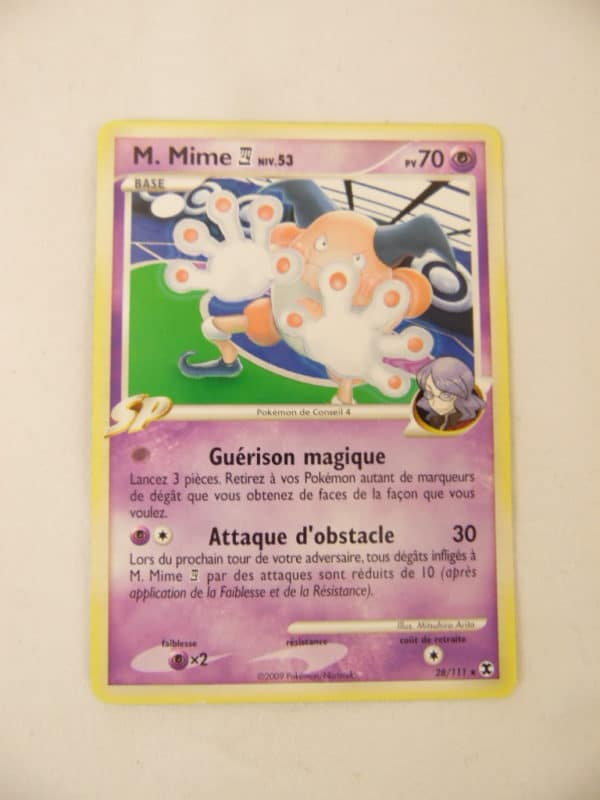 Carte Pokemon FR - M.Mime 70PV - 28/111