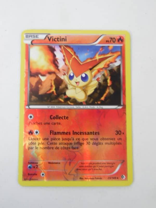 Carte Pokemon FR - Victini 70PV - 23/149 - Frontière Franchies