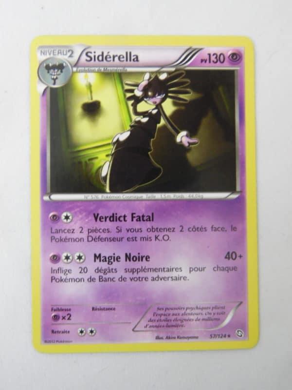 Carte Pokemon FR - Sidérella 130PV - 57/124 - Dragon Exaltés