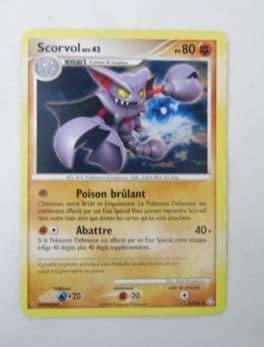 Carte Pokemon FR - Scorvol 80PV - 5/146 - Série Diamant et Perle Eveil des Légendes